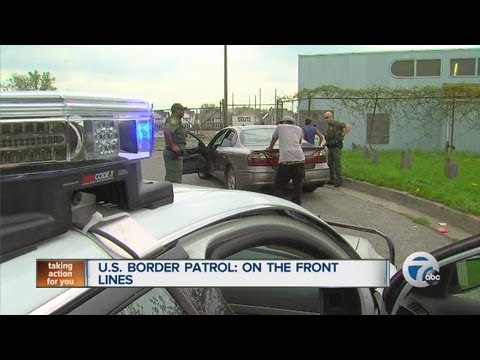 U.S. Border Patrol: On the front lines