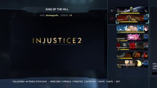Come get some! #koth  #injustice2  #fightinggames #oneonone #ps4live