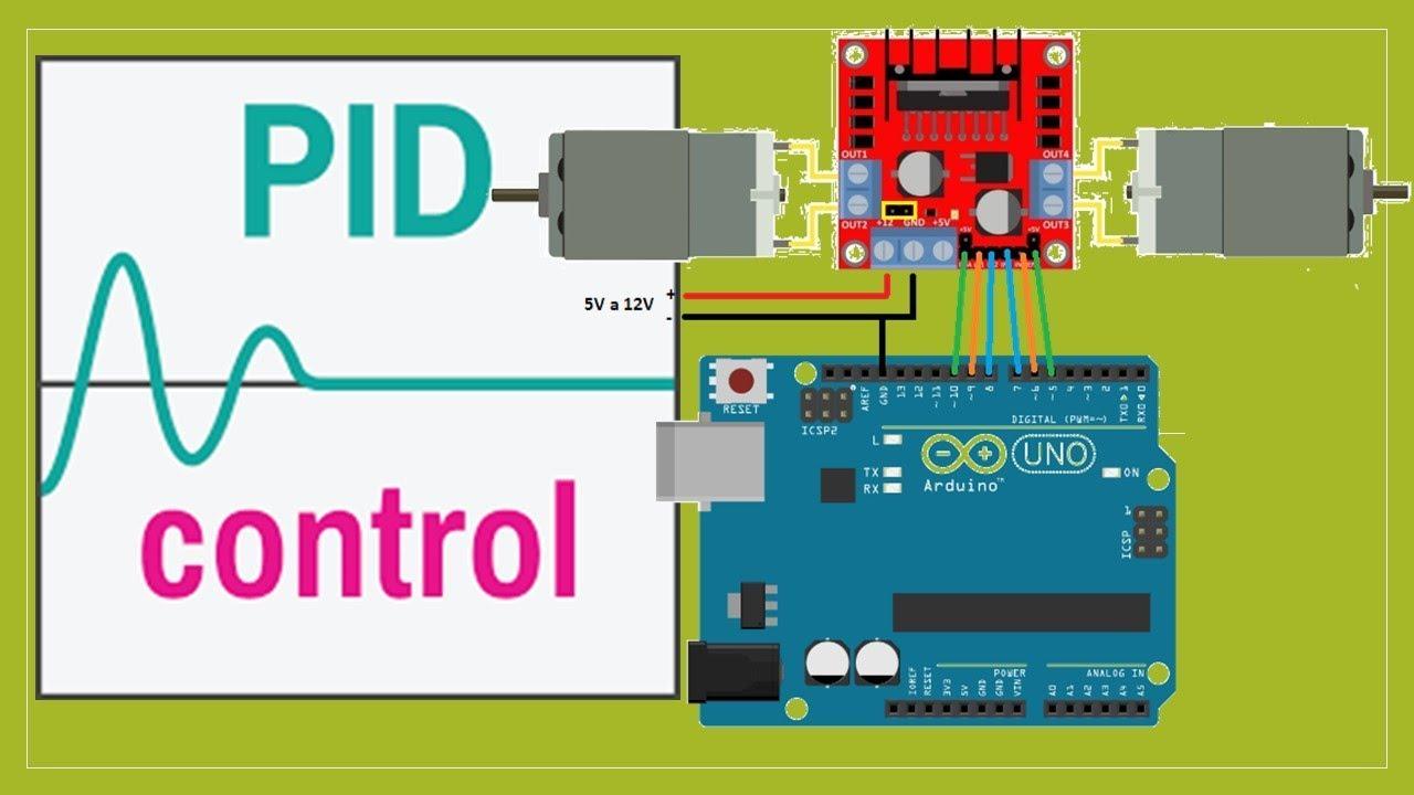 PID Control MotorDC + Arduino + L298 by David Castillo