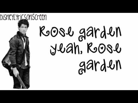 Nick Jonas & The Administration - Rose Garden (Lyrics On Screen) (Studio Version) HD