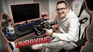 Biurko Gamingowe! ♡ Unboxing & Test ULTRADESK SPACE ☆ MafiaSolec