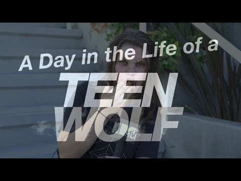A day in the Life of Teen Wolf | Werewolf Makeup Tutorial | Season 6 streaming vf