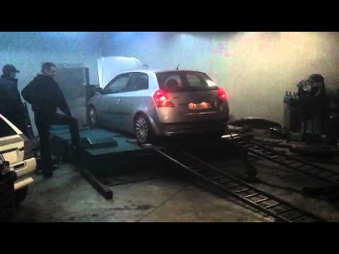 Fiat Stilo 1 9jtd 8v dyno first run 200 cv by EXTREME Service