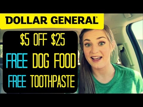 Dollar General $5 off $25 | FREE Stuff! Don't Miss Out!