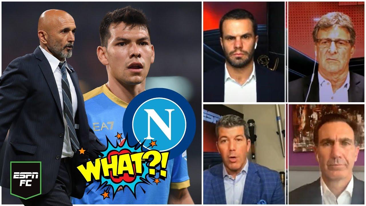 SERIE A Chucky Lozano tiene la calidad, pero no pertenece al once indiscutible del Napoli
