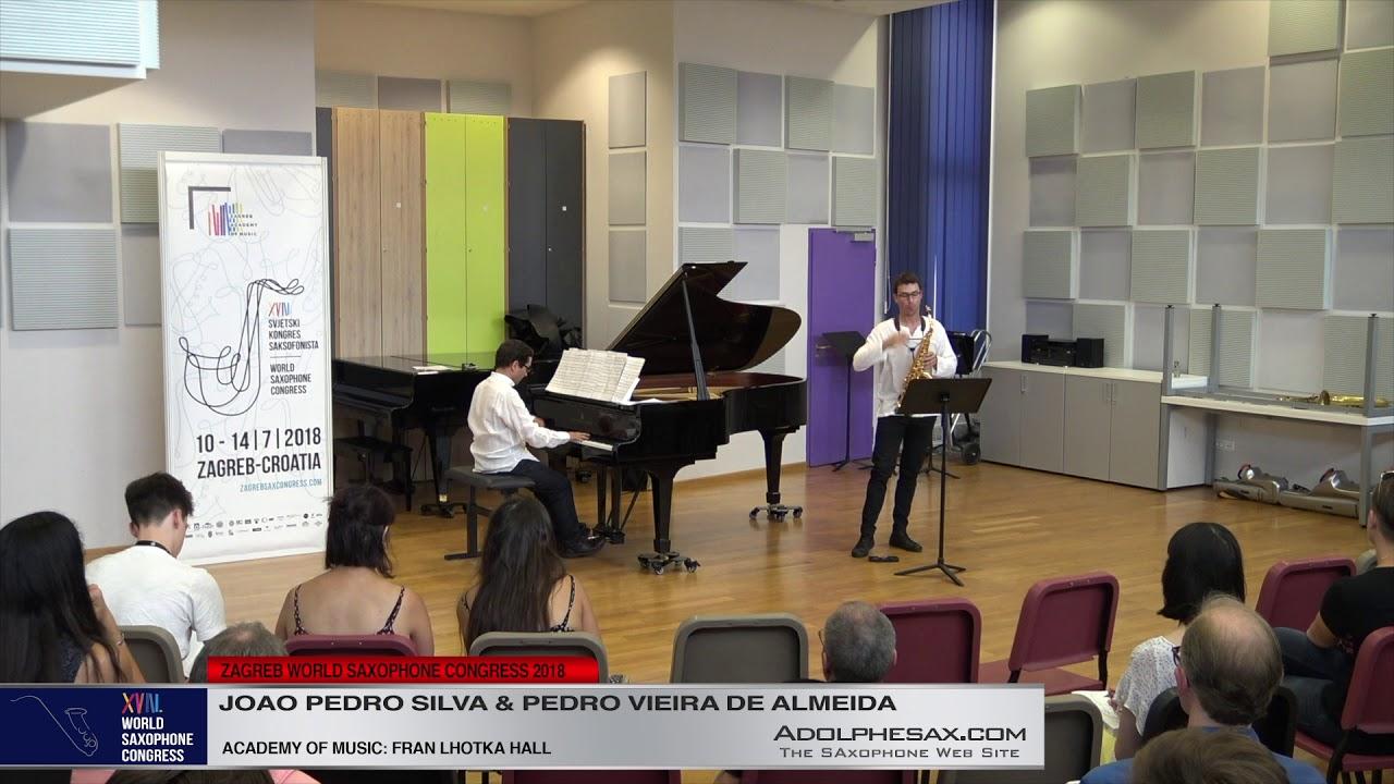 Ostinatus by Lino Guerreiro   Joao Pedro Silva & Pedro Vieira de Almeida   XVIII World Sax Congress