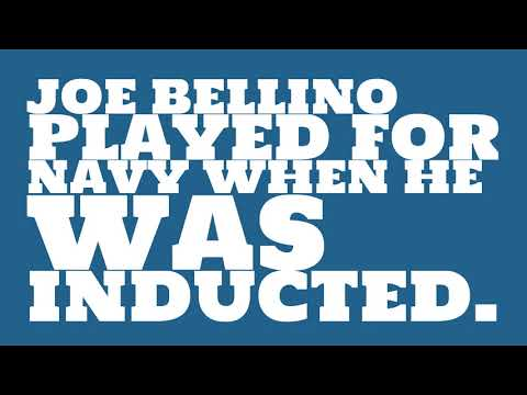 Who did Joe Bellino play for?