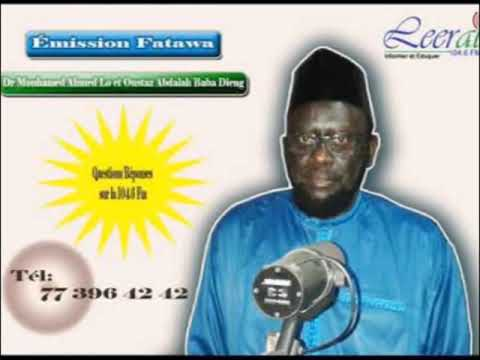 Fatawa Dr Mouhamed Ahmed LO du 11 12 2019
