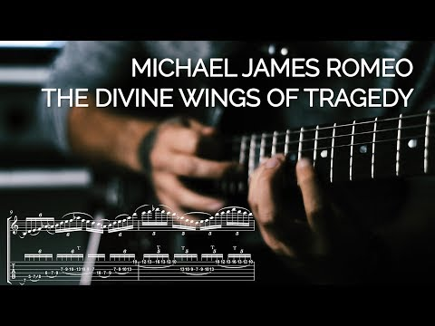 Symphony X - The Divine Wings Of Tragedy (Michael James Romeo Solo Transcription & Analysis)