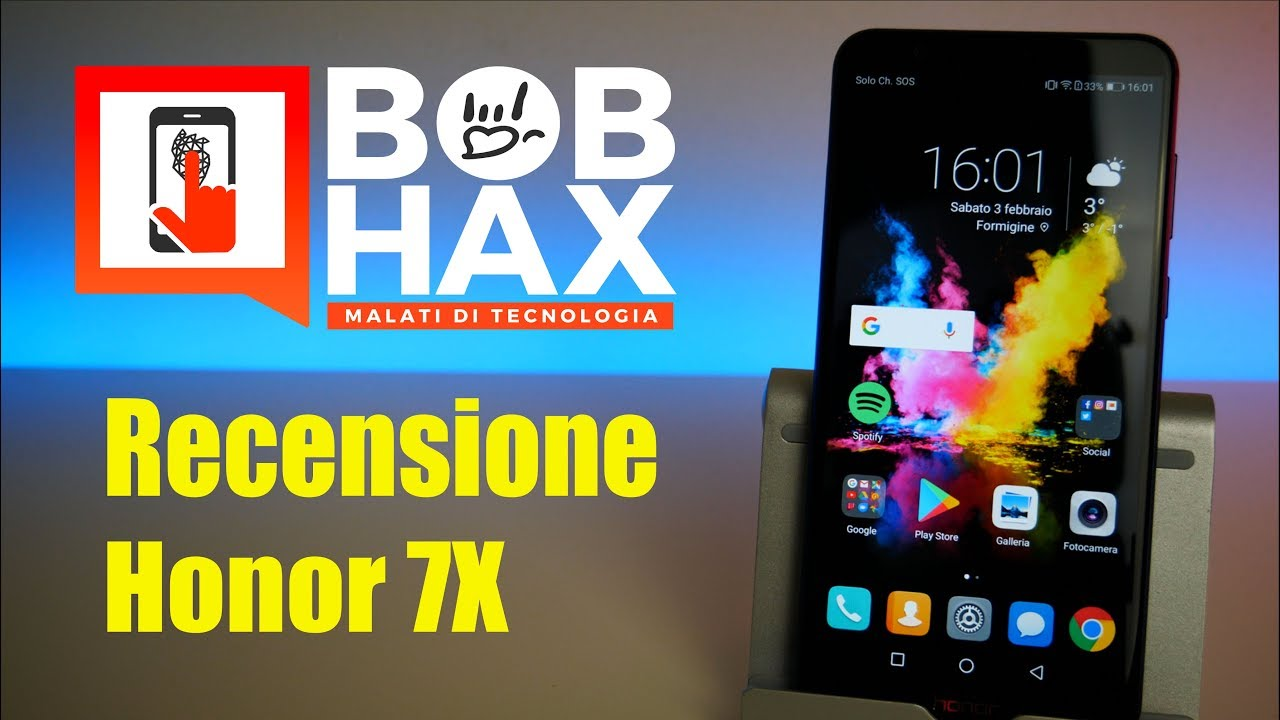 Honor 7x Recensione Youtube