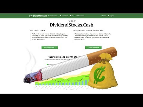 Dividend stocks in the tobacco industry: a round-up
