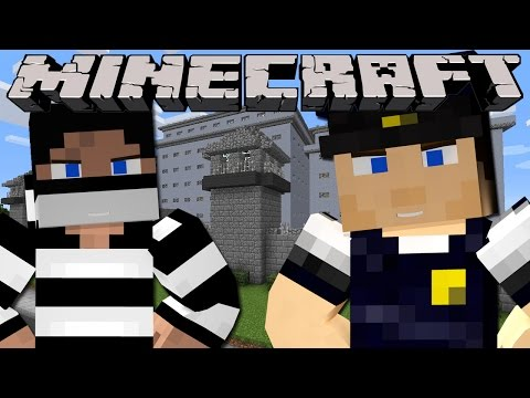 Minecraft - PRISON BREAK - WORKING IN SHARKY'S PRISON!