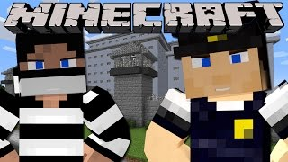 Minecraft - PRISON BREAK - WORKING IN SHARKY