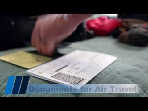 Documents Needed For Air Travel
