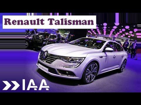 Renault Talisman - Frankfurt Motor Show 2015 IAA
