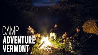 S4E7: Adventure Vermont. Camp.