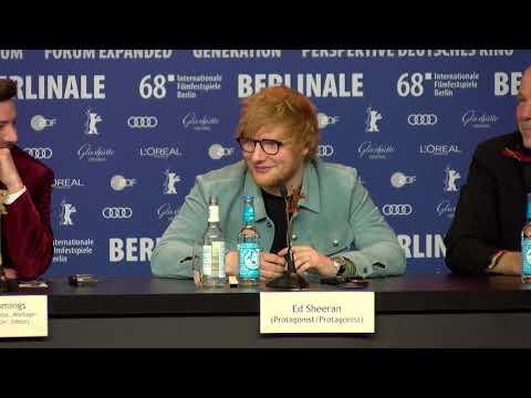 Ed Sheeran about Writing Songs / Berlinale 2018 Songwriter Premiere