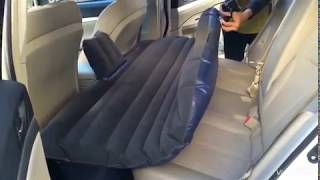 1x Universal Inflatable Mattress Car Air Bed Travel Camping Seat Cushion New #ev