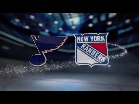 St. Louis Blues vs New York Rangers - October 10, 2017 | Game Highlights | NHL 2017/18. Обзор матча.
