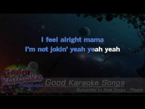 Smokin'  - Boston (Lyrics Karaoke) [ goodkaraokesongs.com ]