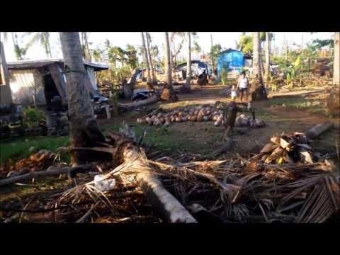 Hayan storm damage Bogo, Cebu