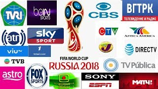 FIFA World Cup 2018 world Live telecast TV channels