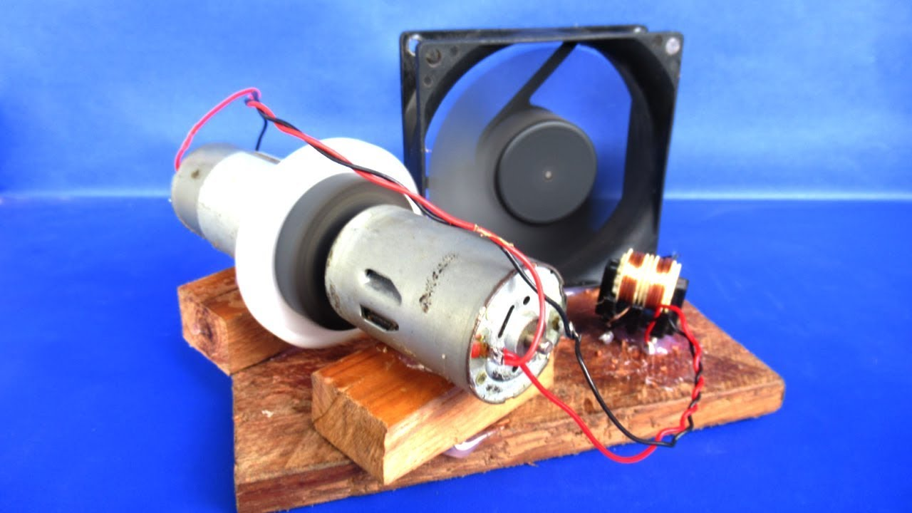 Fig 3 Simple Electrical Circuit Model For A Dc Motor