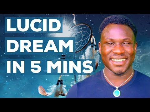 Lucid Dreaming! (How to Lucid Dream in 5 Minutes - Control Your Dreams)