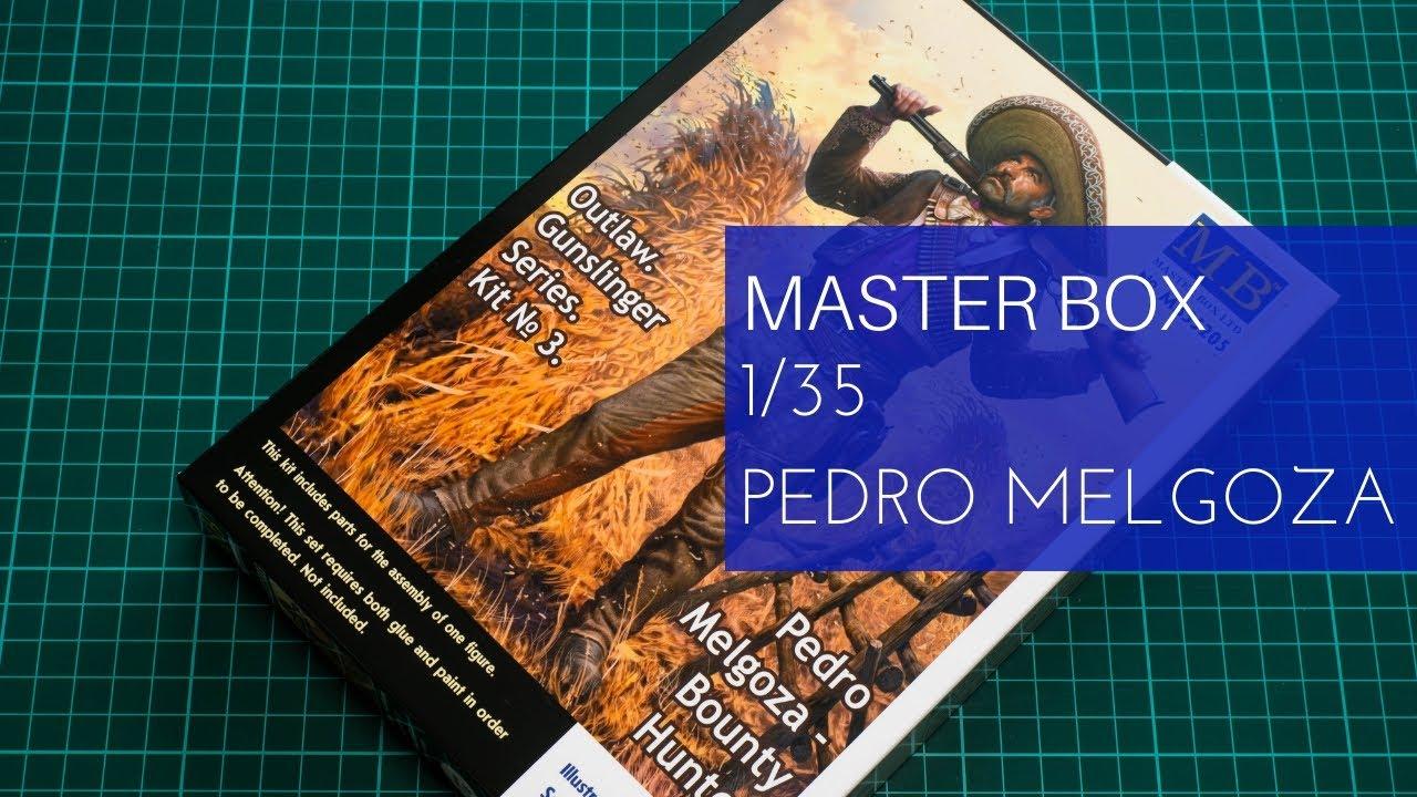 35205 Master Box Outlaw Series Pedro Melgoza Bounty Hunter 1:35