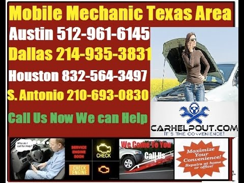 Mobile Auto Mechanic Texas Pre Purchase Foreign Car Inspection Vehicle Repair Service Near Me