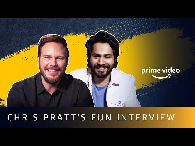 Varun Dhawan's Exclusive Interview With Chris Pratt | Amazon Prime Video