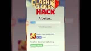 Clash of clans hack [ON MOBILE]OBS KLAPPT?