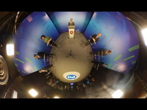 Debate na Alterosa: os bastidores em 360 graus