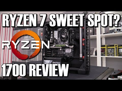 AMD Ryzen 7 1700 CPU Review