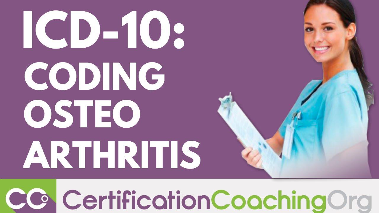 ICD-10 Coding of Osteoarthritis | ICD-10 Coding Guidelines - YouTube