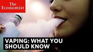 Vaping: what people are getting wrong | The Economist