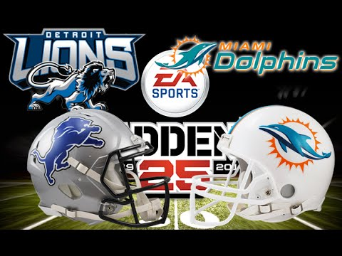 c821fe95 Madden 25: Detroit Lions vs Miami Dolphins [Full Game]