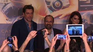 Cruz, Bardem and Farhadi present