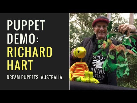 Puppet Demo by Richard Hart from Dream Puppets