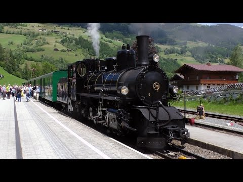 Pinzgauer Lokalbahn Steam - Trip behind Bosnian Herzegovina state railways No. 169 (73-019)