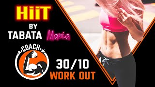 TABATA 30/10 - Workout music w/ TIMER - by TABATAMANIA