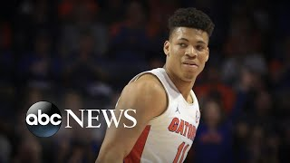 Star college basketball player collapses on court