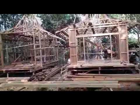 Produksi Rumah Kayu Knock Down