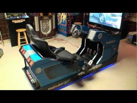 Redline GT Game Theater - Home Racing / Flying Simulator - BMIGaming.com - Chicago Gaming