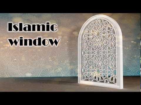 islamic window (speed Art)