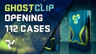 DIRTY BOMB | Ghostclip Case Opening + Showcase (10 Elite, 2 Event, 100 Equipment Cases)