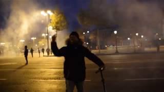 Violents échauffourés. Manif contre l'esclavage en Libye - Paris 18.11.2017