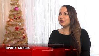 Вязаные купальники создает пинчанка Ирина Бокша