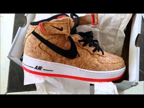nike air force 1 mid cork