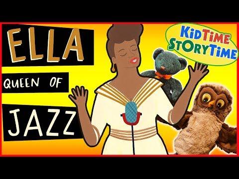 Ella, Queen of Jazz (featuring Marilyn Monroe!) | Kids Books READ ALOUD!